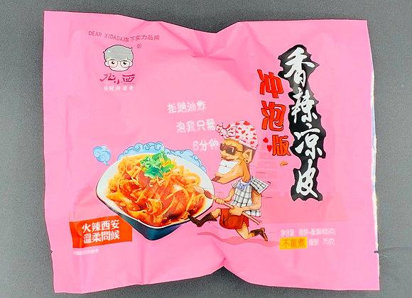 北小西冲泡香辣凉皮 165g BXX Starch Noodle Chilli