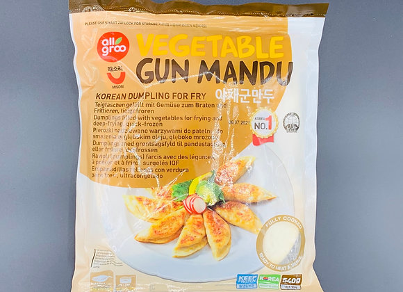 韩国蔬菜煎饺540g Allgroo Vegetable Mandu(Fried Dumpling)