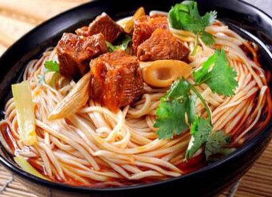 麻辣牛肉面 Spicy Beef Belly Noodles