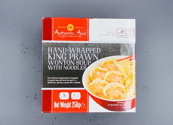 CP鲜虾云吞面 258g Prwan Wonton Soup with Noodles