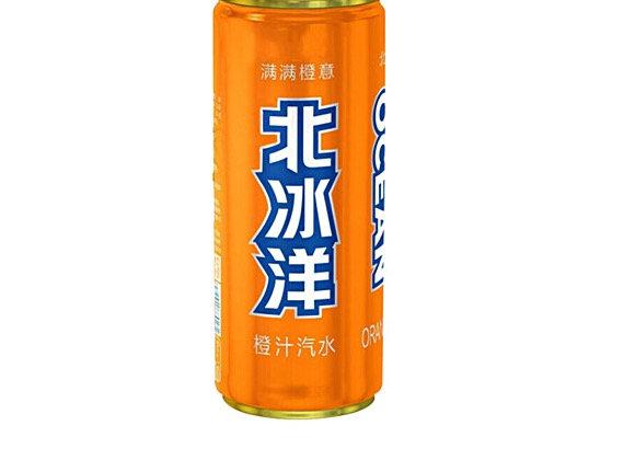 北冰洋橙子汽水 330ml BBY Orange Flavour Soft Drink