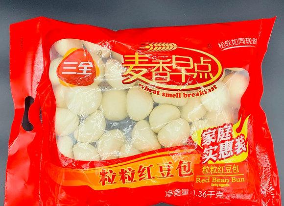 三全粒粒红豆包1.36kg SQ Red Bean Bun