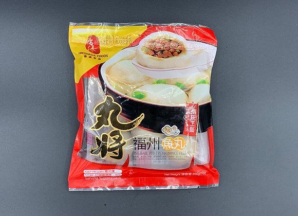 香源丸将福州鱼丸200g Freshasia WJ Fish Ball with Pork Filling