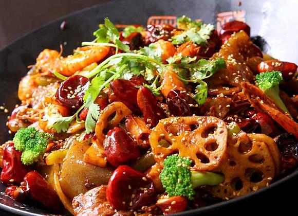 麻辣香锅 Hot and Spicy Platter