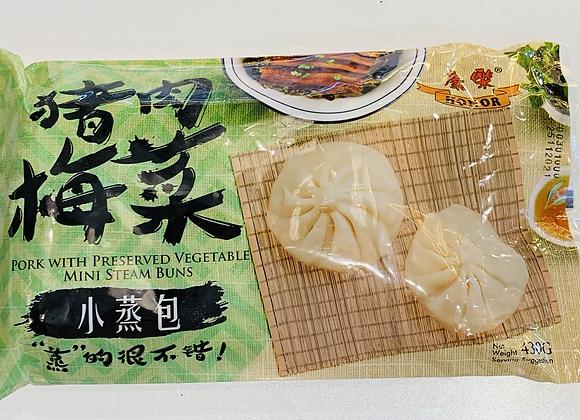 康乐小蒸包-猪肉梅菜430g HR Mini Bun-Pork with Preserved Vegetable