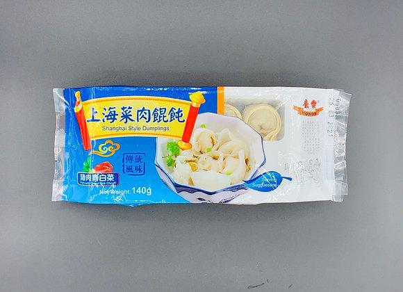 康乐上海菜肉馄饨 140g HR Wonton-Pork with Bok Choy