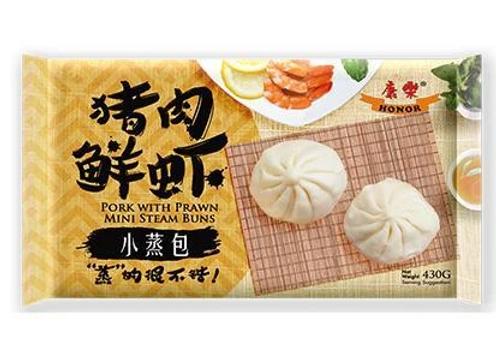 康乐小蒸包-猪肉鲜虾430g HR Mini Bun-Pork with Prawn