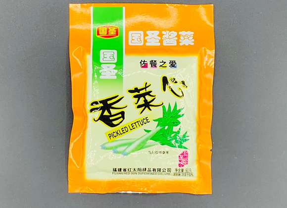 国圣香菜心 90g GS Pickled Lettuce