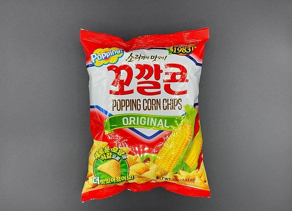 烘焙玉米脆角薯片-原味 72g Kokkalcone Popping Corn Chips-Original