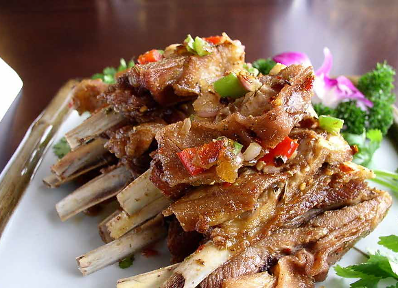 新疆羊排 Cumin fried Lamb Chops