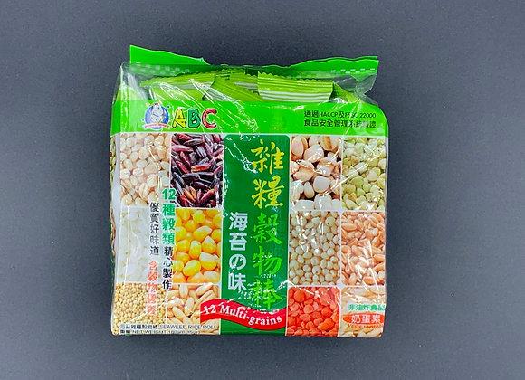 ABC杂粮谷物棒-海苔味 180g ABC Rice Roll - Seaweed