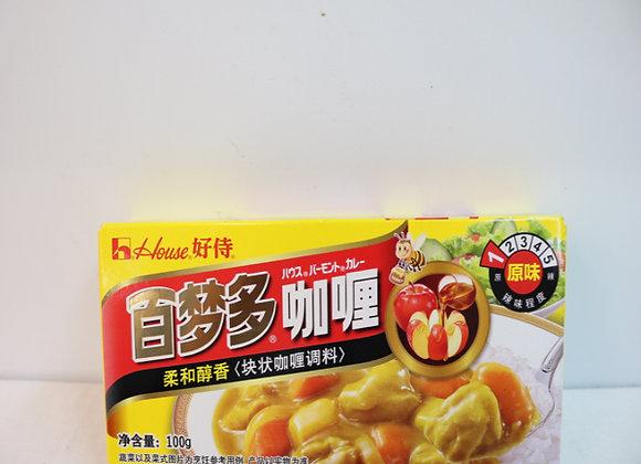 好侍百梦多咖喱-原味 100g HS Curry-Original