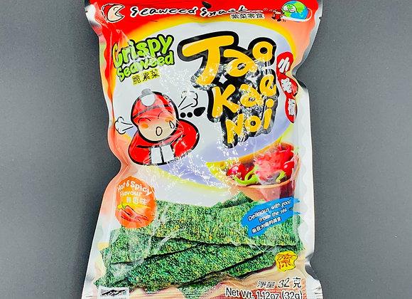 小老板紫菜-辣香味32g Taokaenoi Crispy Seaweed-Hot & Spicy