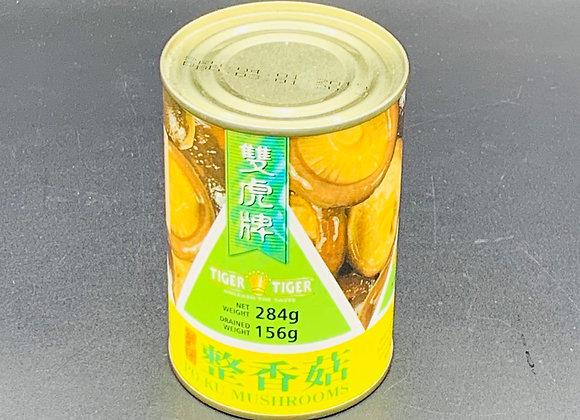 双虎牌整香菇284g TigerTiger Po-Ku Mushroom