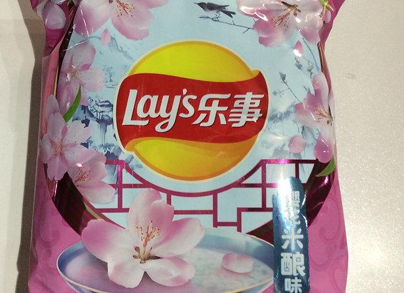 乐事薯片-樱花米酿味 60g Lay's Potato Crisps-Sakura Flavor