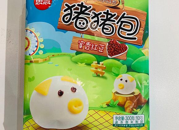 思念猪猪包(蜜香红豆)300g SN Piggy Bun(Red Bean)