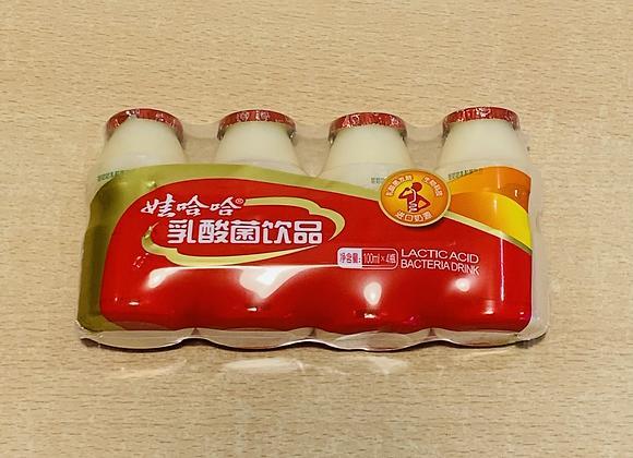 娃哈哈乳酸菌饮品 4×100ml WHH Yogurt Drink