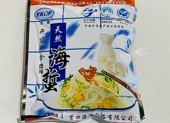 泽泰即食海蜇丝-微辣 170g YKOF Instant Shredded Jelly Fish-Hot
