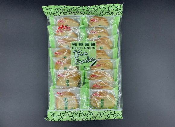 思朗鲜葱薄饼264g SL Green Onion Thin Cracker