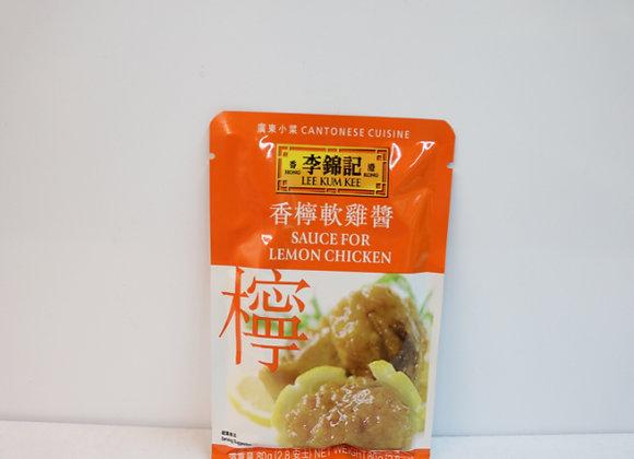 李锦记香柠软鸡酱