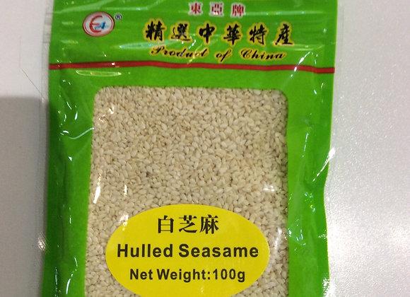 东亚白芝麻 100g EA White Sesame Seeds