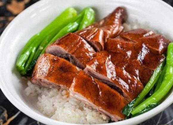 烧鸭饭 Roasted Duck with Rice