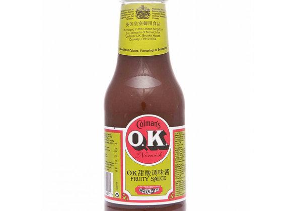 甜酸酱 335ml Ok Fruity Sauce