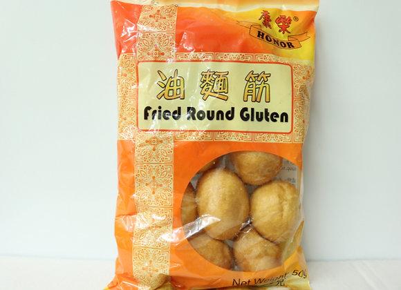 康乐油面筋50g HR Fried Round Gluten