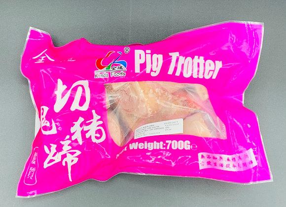 金达切块猪蹄(猪脚/猪手)700g Kinda Pig Trotter
