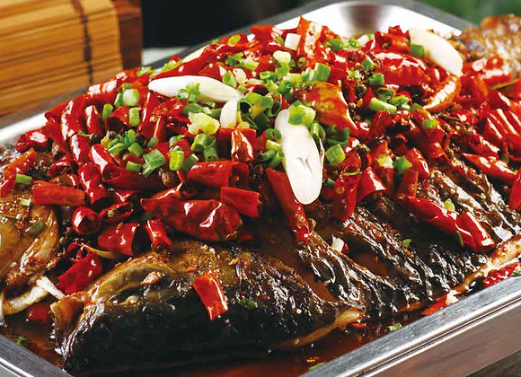 万州烤鱼 Spicy Grill Seabass
