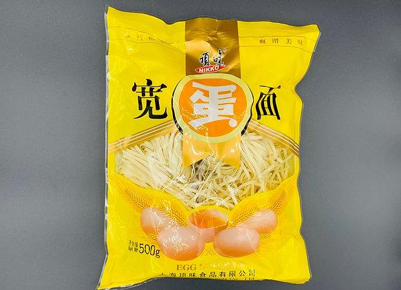 顶味宽蛋面500g NK Egg Noodle