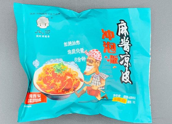 北小西冲泡麻酱凉皮 165g BXX Starch Noodle Sesame