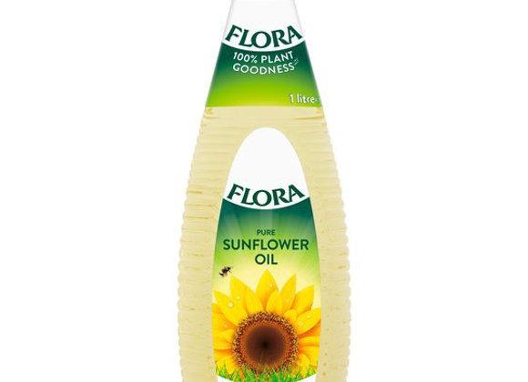 菜油 1L Flora Sunflower Oil