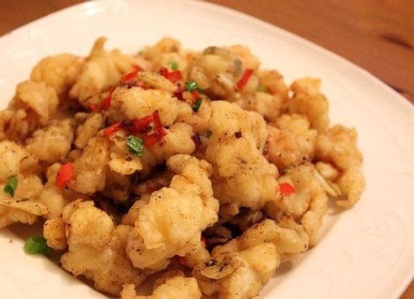 椒盐鲜鱿 Crispy Fried Squid with Salt and Pepper