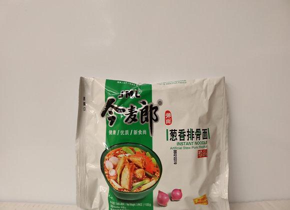今麦郎葱香排骨面 113g JML Instant Noodles-Stew Pork