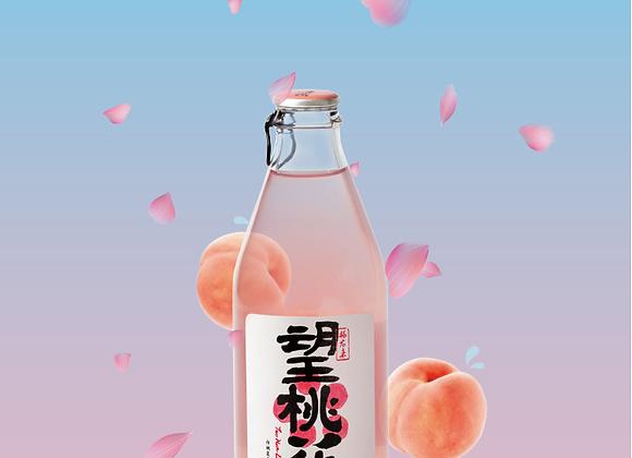 好望水气泡果汁-望桃花300ml HWS Juice Drink-Peach