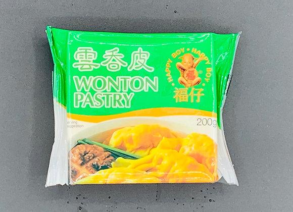 福仔云吞皮200g Happy Boy Wonton Pastry