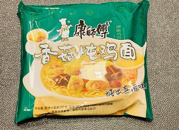 康师傅香菇炖鸡面 100g KSF Instant Noodles-Artificial Chicken&Mushroom Flavour