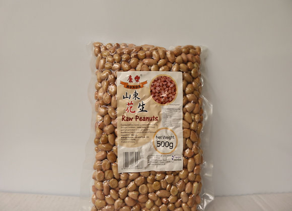 康乐山东生花生 500g Honor Raw Peanuts