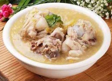 酸菜大肘子Pork Shank with Chinese Pickled Cabbages