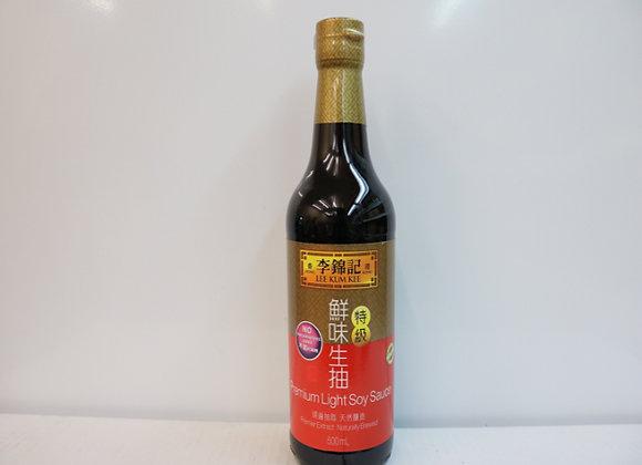 李锦记鲜味生抽500ml LKK Light Soy Sauce