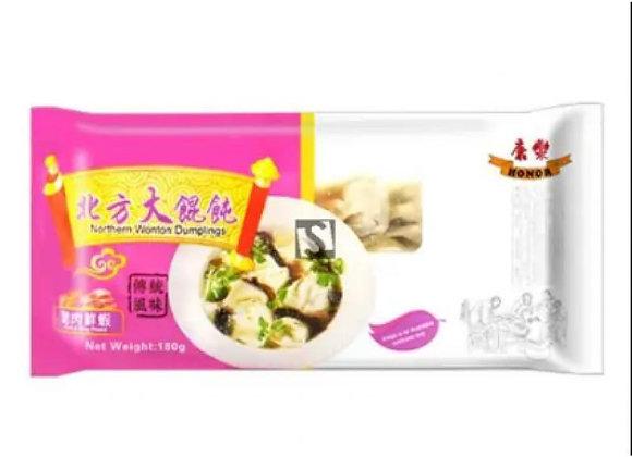康乐北方大馄饨-猪肉鲜虾 180g HR Wonton-Pork with Prawn