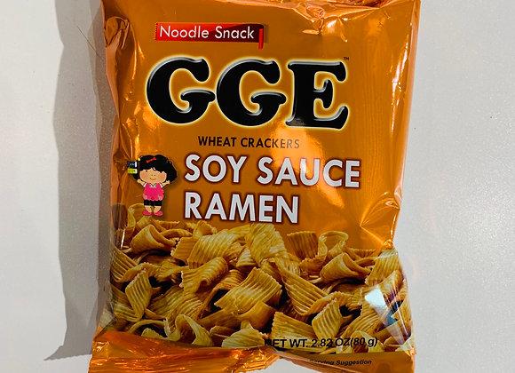 张君雅脆面-酱油拉面味 GGE Wheat Cracker-Soy Sauce Ramen Flavour