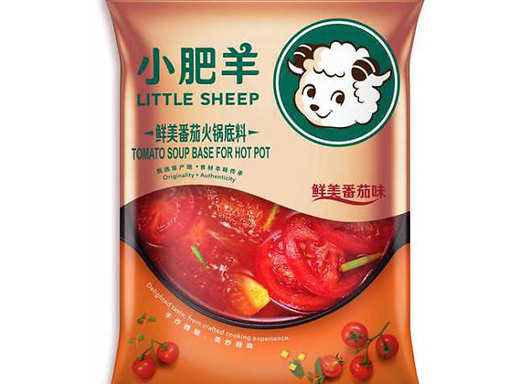 小肥羊火锅底料-鲜美番茄味 200g LS Hotpot Soup Base-Tomato