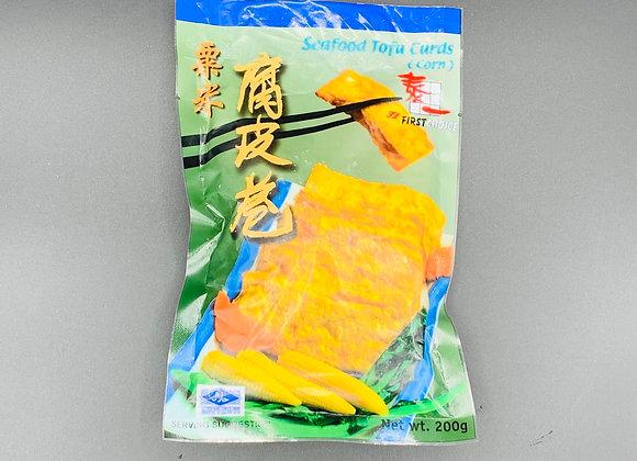 泰一玉米腐皮卷 200g FirstChoice Seafood Tofu Curb(Corn)