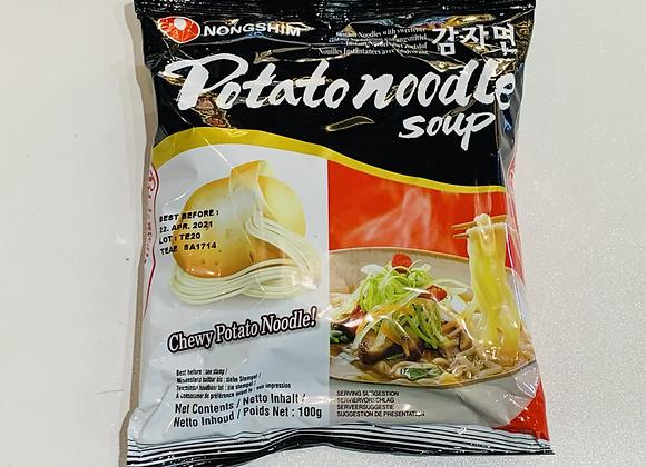 农心土豆面 100g Nongshim Potato Soup 面