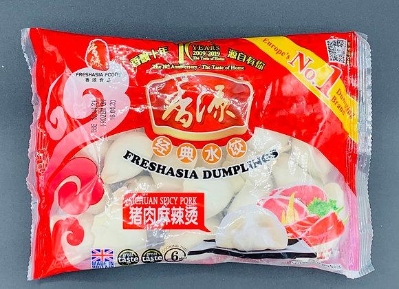 香源水饺-猪肉麻辣烫 400g Freshasia Sichuan Spicy Pork Dumpling