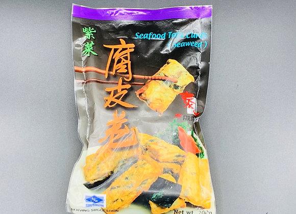 泰一紫菜腐皮卷 200克 First Choice Seaweed Beancurb Roll