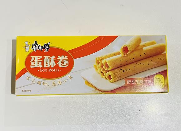 康师傅蛋酥卷-醇香芝麻口味 108g KSF Egg Roll-Sesame Flavour