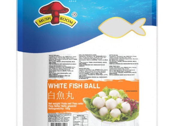 蘑菇牌白鱼丸 160g Mushroom Brand White Fish Ball